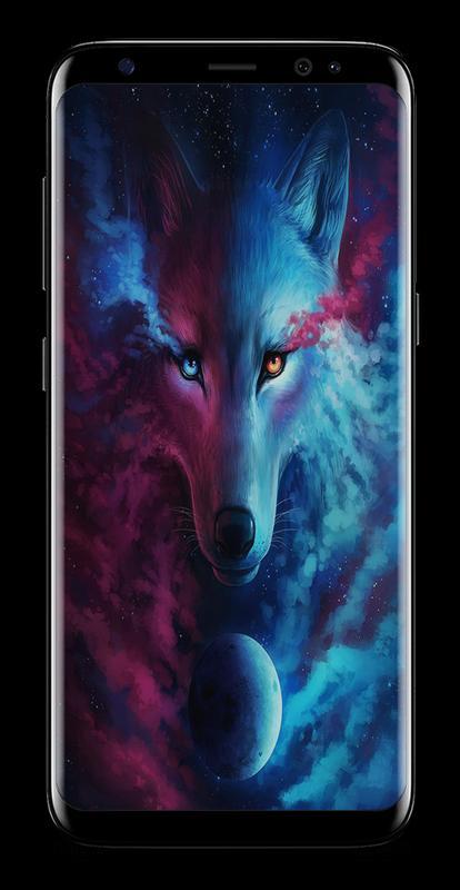 Dark Night Magic Wolf Wallpapers HD