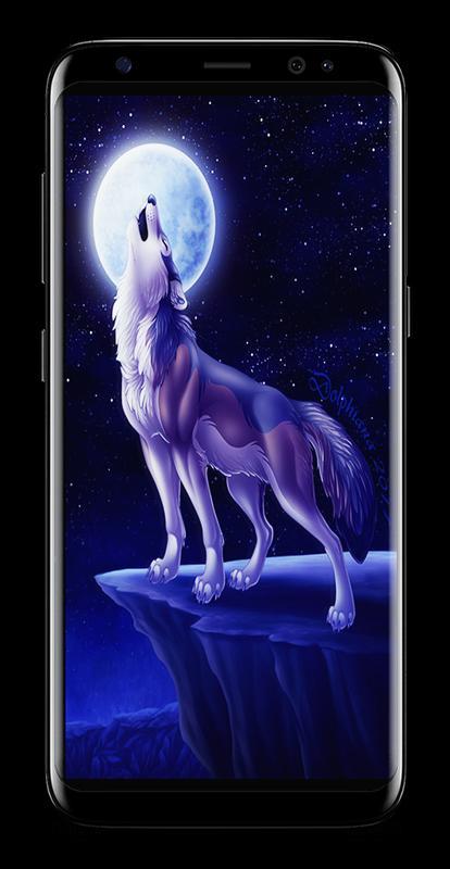 Dark Night Magic Wolf Wallpapers HD 4