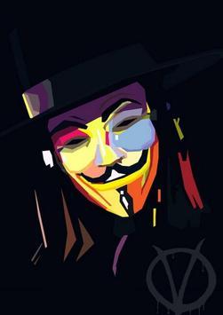 Best Anonymous Wallpaper screenshot 2