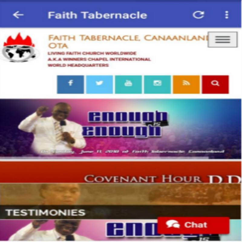 Bishop david oyedepo ministry for android apk download.