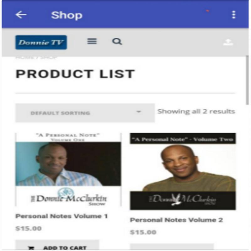 Donnie mcclurkin – my favorite things [mp3 download].