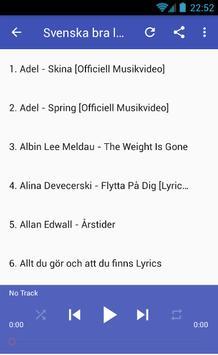 Svenska Bra Låtar screenshot 1