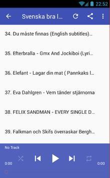 Svenska Bra Låtar screenshot 2