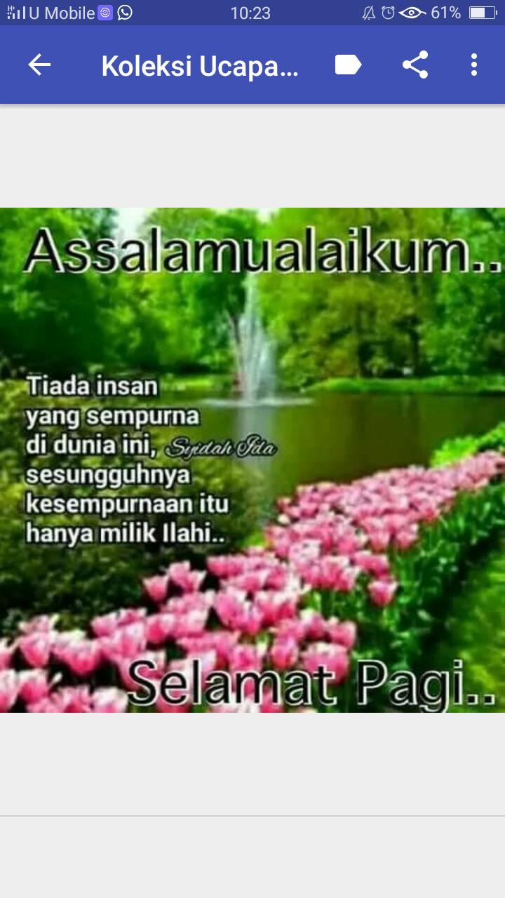 Ucapan Selamat Pagi Islami For Android Apk Download