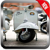 Classic Scooter Wallpaper icon