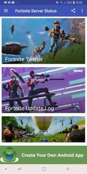 Fortnite Server and Update Status poster