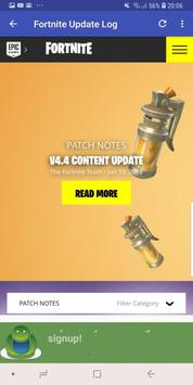 Fortnite Server and Update Status screenshot 1