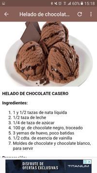 Helados de chocolate screenshot 1