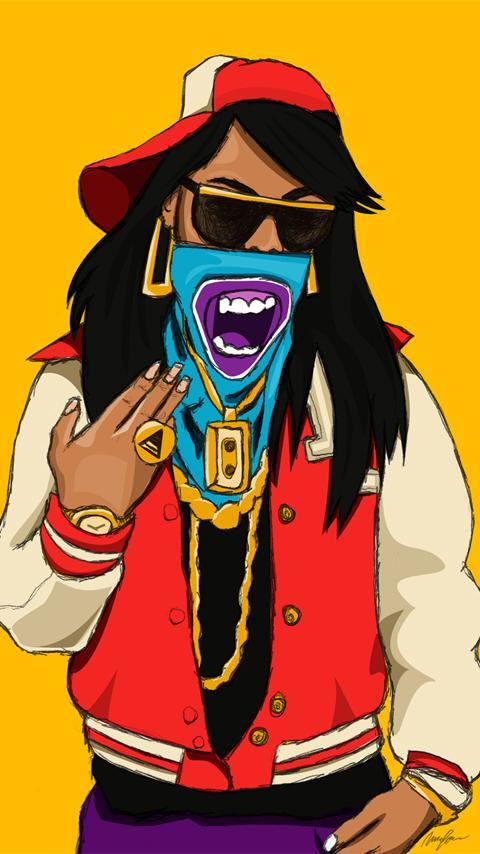 bape cartoon wallpaper