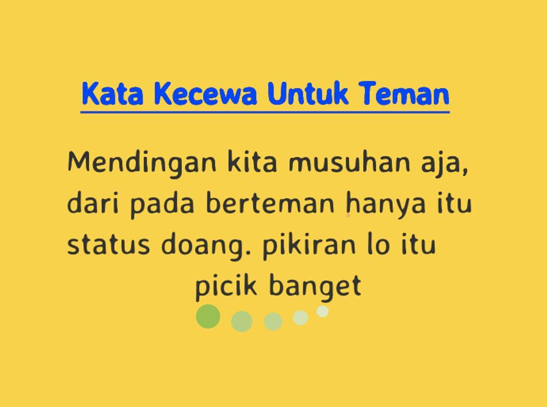 Kata Sedih Dan Kecewa 2019 For Android Apk Download