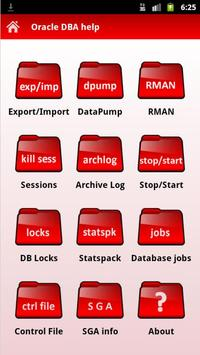 Oracle DBA help poster
