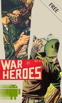 War Heroes Comic poster