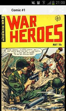 War Heroes Comic apk screenshot