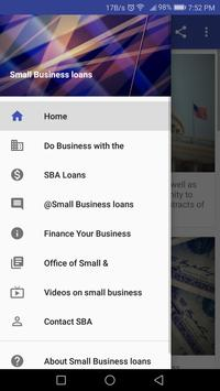 Small Business Loans poster