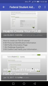 Financial Aid for Students screenshot 4