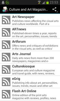 Culture and Art Magazines poster