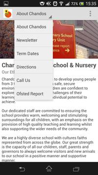 Chandos Primary School apk screenshot