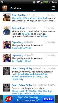 LSU Football screenshot 1