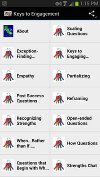 Keys to Engagement poster