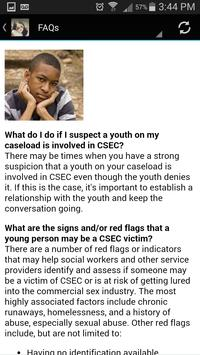 CSEC: Engaging Foster Youth apk screenshot