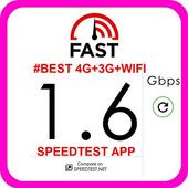 #BEST 4G+3G+WIFI SPEEDTEST APP icon