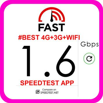 #BEST 4G+3G+WIFI SPEEDTEST APP apk screenshot