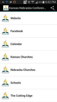 Kansas-Nebraska Conference poster