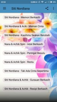 Siti Nordiana - Memori Berkasih MP3 Terbaru screenshot 1