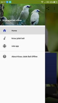 Master Kicau Jalak Bali Offline screenshot 1