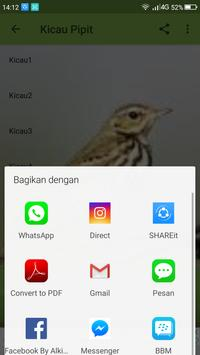 Kicau Burung Pipit screenshot 3