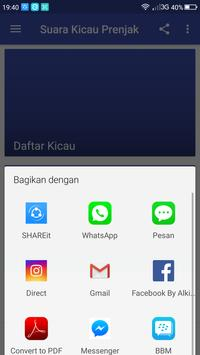 Master Suara Kicau Prenjak screenshot 2
