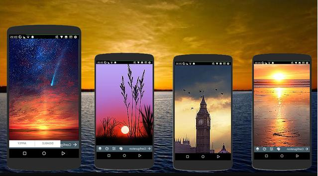 Sunset Wallpaper HD Offline screenshot 1