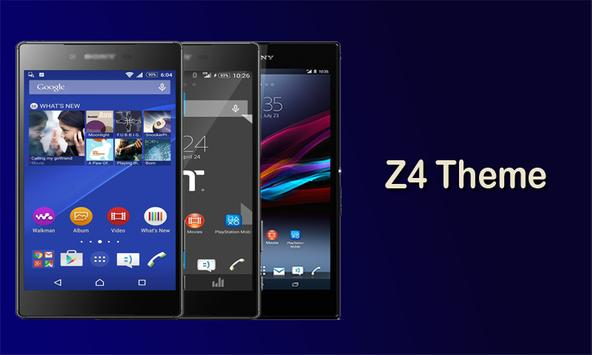 Z4 Theme and Launcher poster