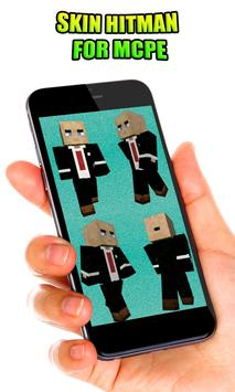 Skin Hitman For MCPE For Android APK Download - Skin para minecraft pe hitman