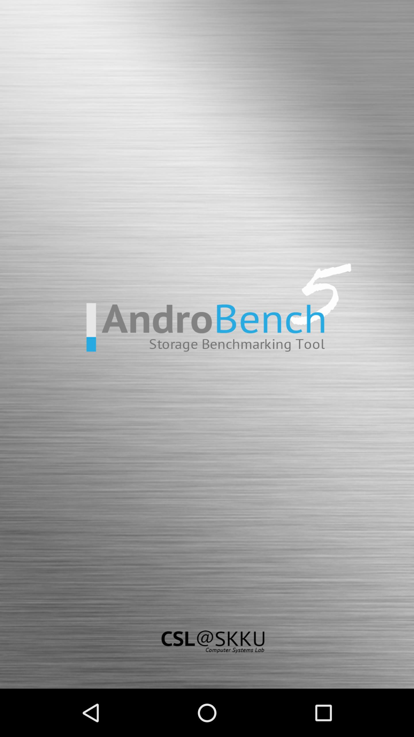 Androbench (Storage Benchmark) for Android - APK Download