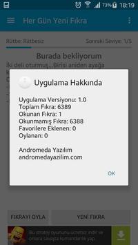Her Gün Yeni Fıkra apk screenshot