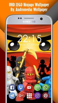 UHD LEGO Ninjago Wallpaper Screenshot 2
