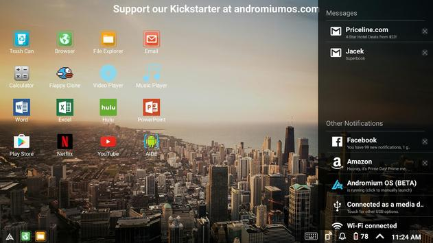 Sentio Desktop (Lollipop, Marshmallow) screenshot 5