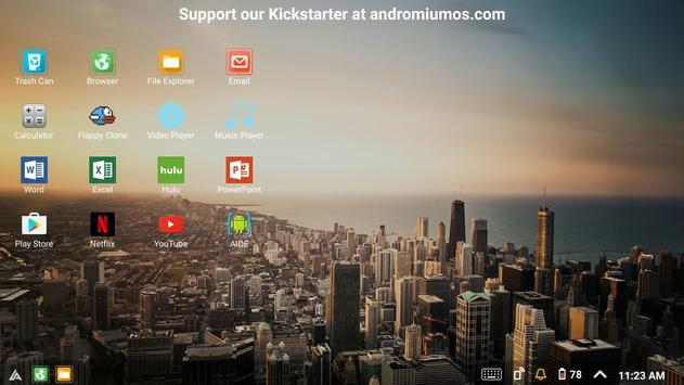 Sentio Desktop (Lollipop, Marshmallow) screenshot 6