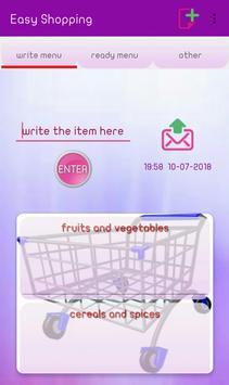 Easy Shopping penulis hantaran