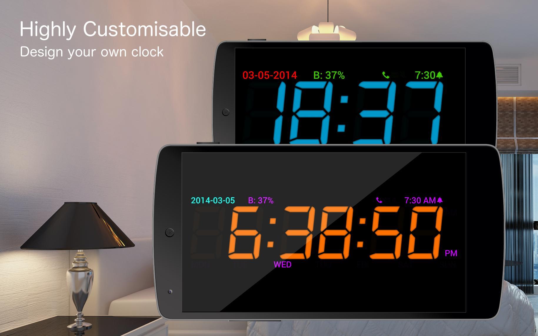 Digital Alarm Clock for Android - APK Download