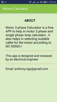 Electrical cable size calculator motor calculator for android apk electrical cable size calculator motor calculator screenshot 6 keyboard keysfo Images