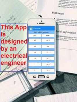 Electrical converter electrical calculator free for android apk electrical converter electrical calculator free poster greentooth Image collections