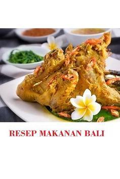 Resep Makanan Bali poster