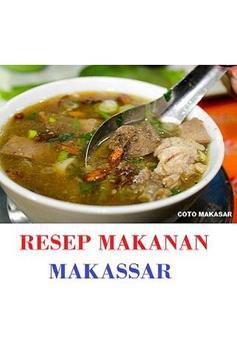 Resep Makanan Makassar poster