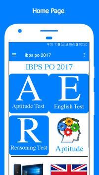 ibps po 2017 poster