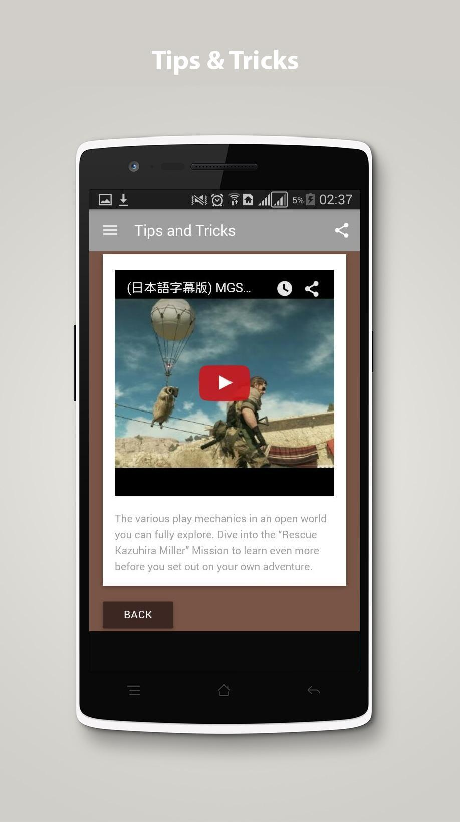 Cheats for Metal Gear Solid 5 for Android - APK Download