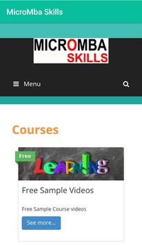 MicroMBA Skills apk screenshot