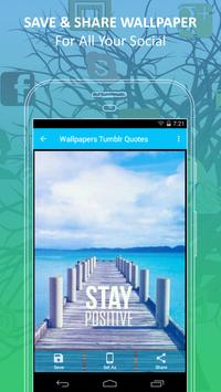 Wallpapers Tumblr Quotes, Background HD apk screenshot