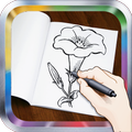 How To Draw Flowers: Drawing Step by Step